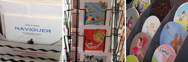 une sélection de cartes - Librairie des Thés